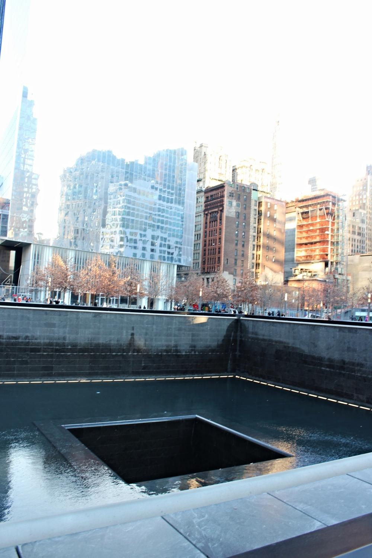 9/11 Memorial. Eenmaal afecht heel indrukwekkend.