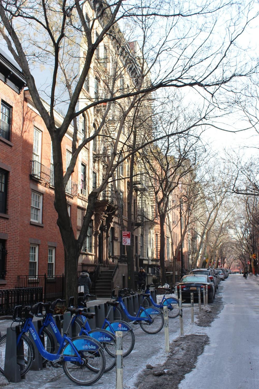 New York is hip, dus natuurlijk zijn er ook fietsen.