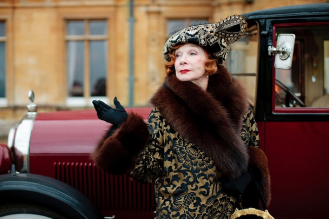 "Shirley MacLaine has joined ""Downton Abbey,"" as Martha Levinson, the mother of Cora, Countess of Grantham.Photo courtesy of Carnival Film."