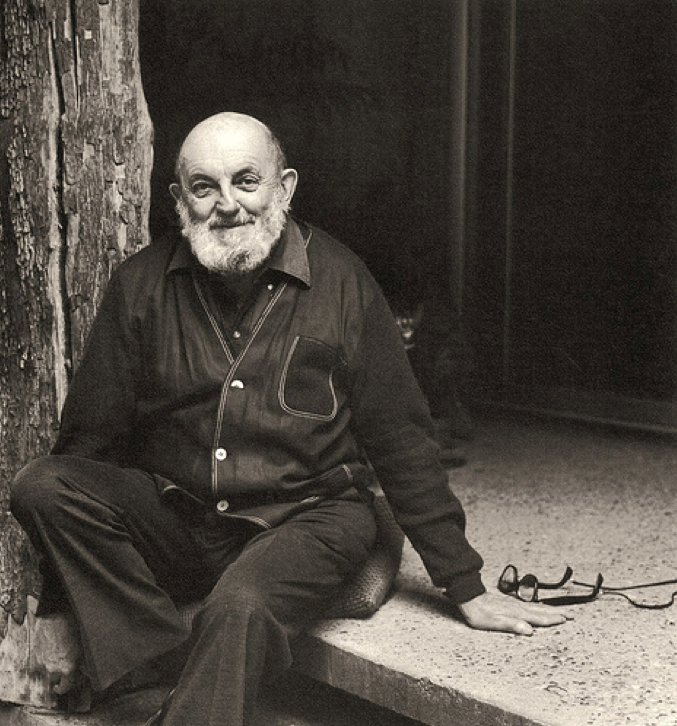 Ansel Adams photo by Imogen Cunningham