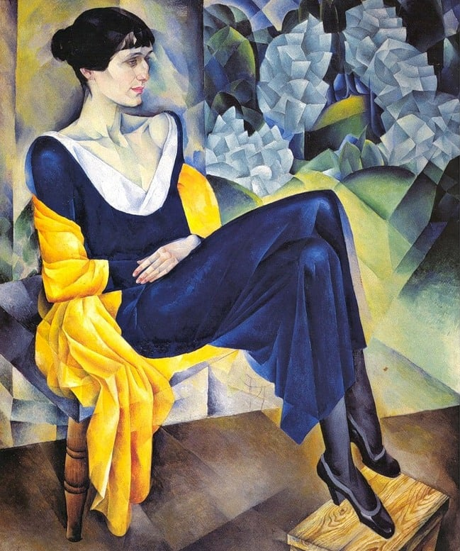 Portrait of Anna Akhmatova (1914) by Nathan Altman