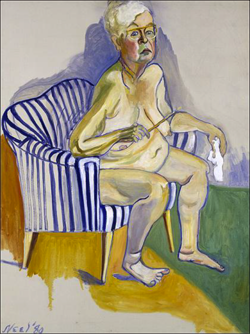 Alice Neel self-portrait, 1983