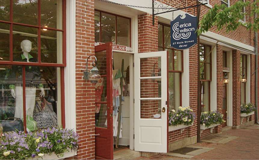 Erica Wilson's Nantucket Shop is run by her daughter Vanessa Diserio