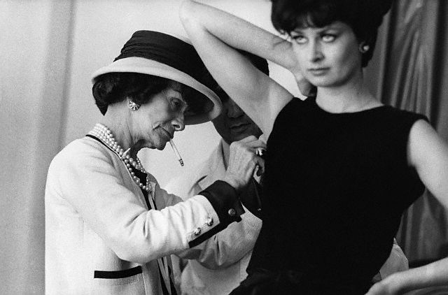fdfefe3bbbe Chanel s fascinating life story became the basis for the Broadway musical  Coco starring Katharine Hepburn as the legendary designer.