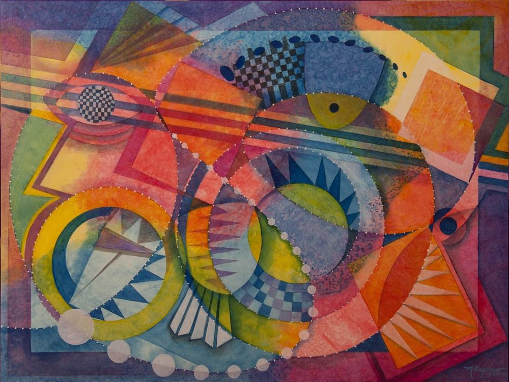 Margarete Bagshaw painting