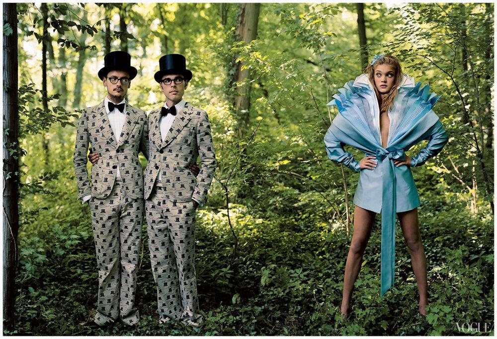 Alice in Wonderland photo by Annie Leibovitz for Vogue