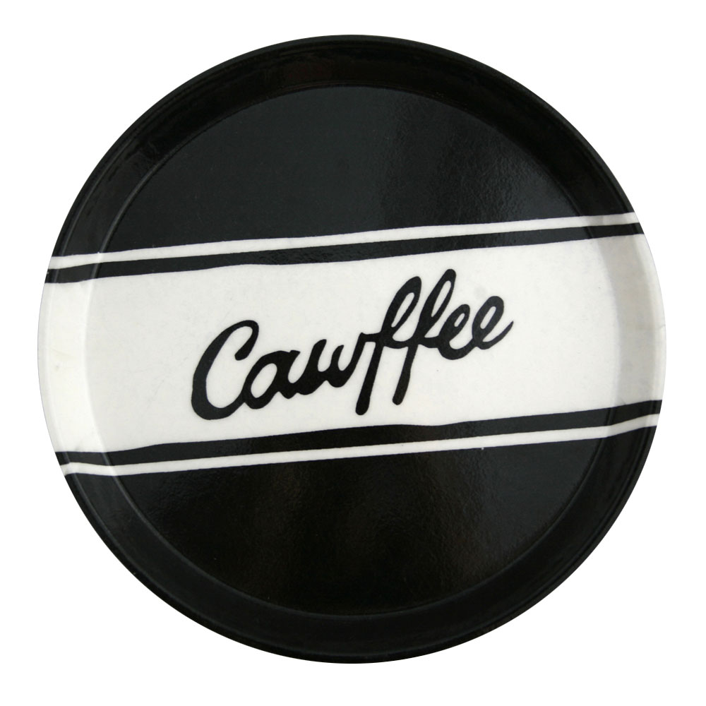Cawfee tray for cawfee time