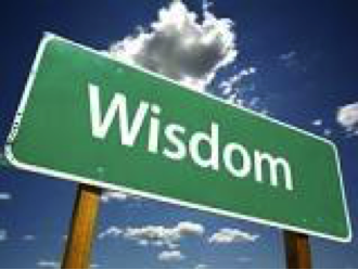 """Wisdom calls aloud in the street..."" Proverbs 1:20"