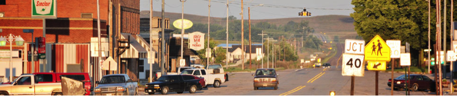 Downtown Arnold, Nebraska