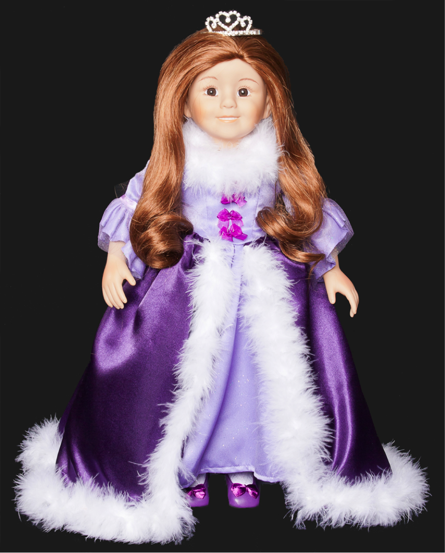 "I am an 18"" Princes Grace doll!  I am a Limited Edition and available at www.theprincessparables.com"