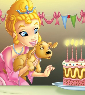 Princess Parables Birthday Party