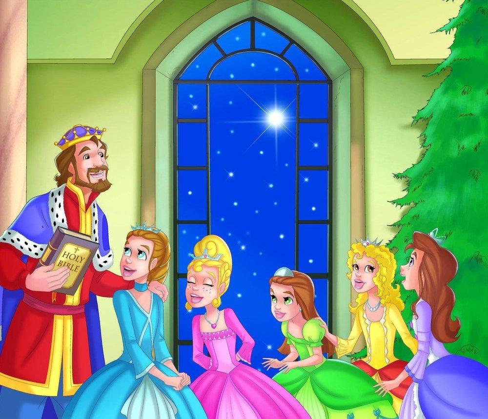Princesses Joy, Grace, Faith, Hope and Charity