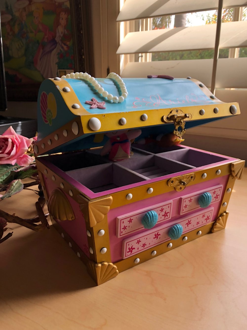 "Princess Hope's treasure box that sits on my desk…her book teaches the true meaning of ""eternal treasures""…"