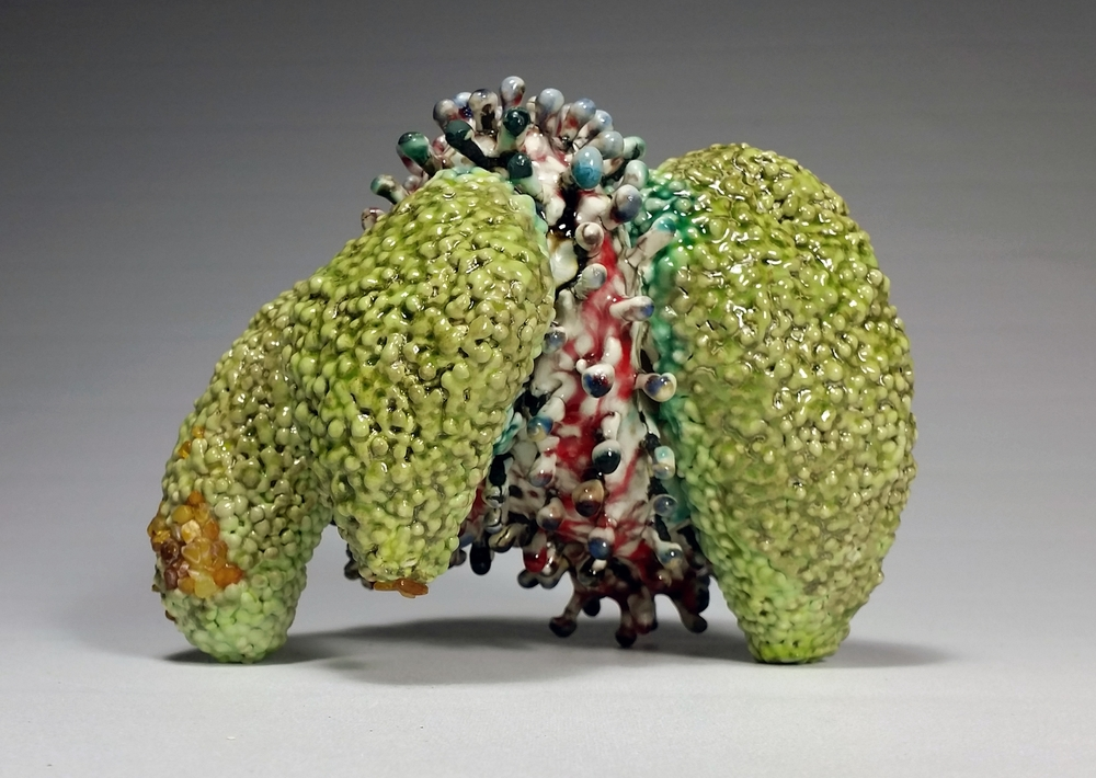 Skittle is heading to the California State Fair perhaps to take home a blue ribbon? June 10 - July 26th Sacramento    After taking home a bright orange ribbon, Skittle now lives with San Francisco artist  Ellen Little
