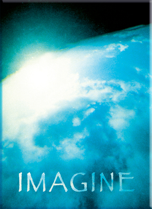 Imagine John Lennon and Imagine.  Ask the Light Miracle Cards. Underwater Photography