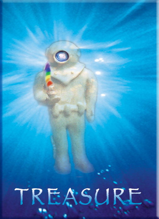 Babaji Jude Leonard. Best Son! Love beyond measure. Underwater fun. Enlightenment inside the Rainbow. Eternity is Now!