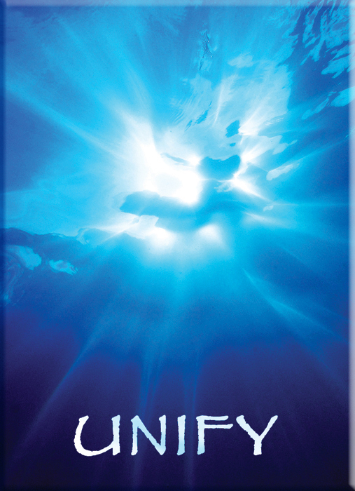 Unify is a powerful image from Ask the Light Miracle Cards. Underwater Photography from Barton Springs in Austin Texas.