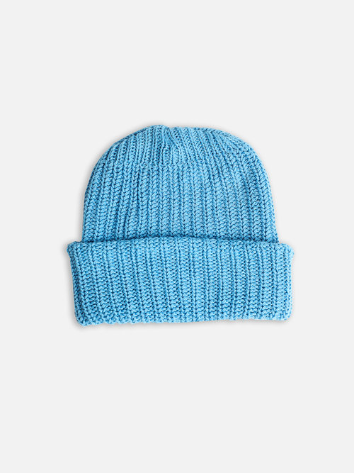 Norse Blue Heavy Knit Beanie