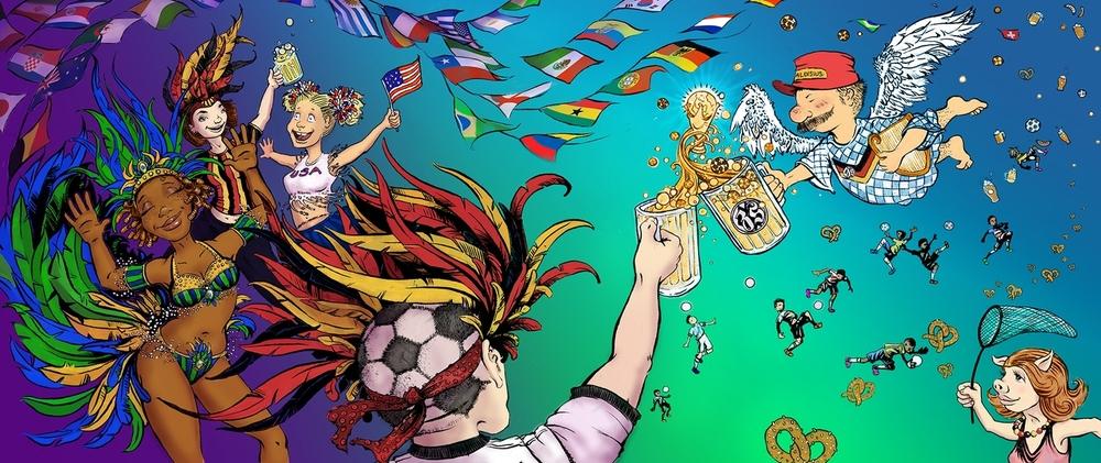 Zum Schneider World Cup Mural