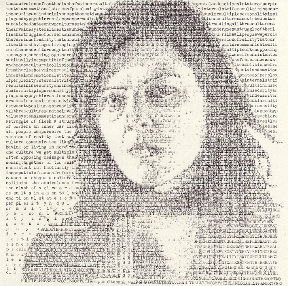 Leslie Nichols Typewritter Art