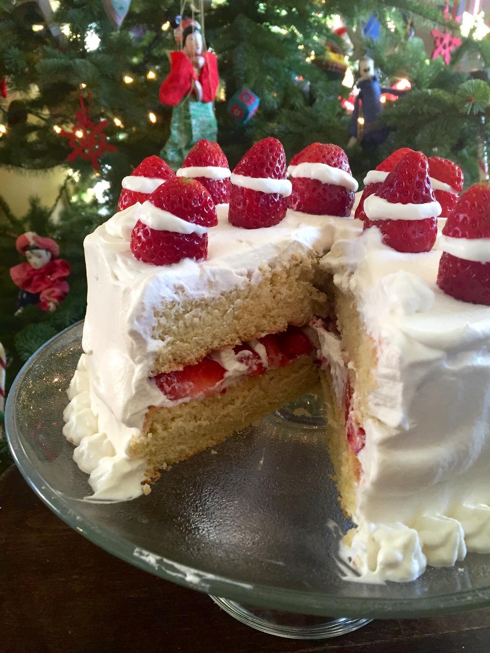 Japanese christmas sponge cake recipe
