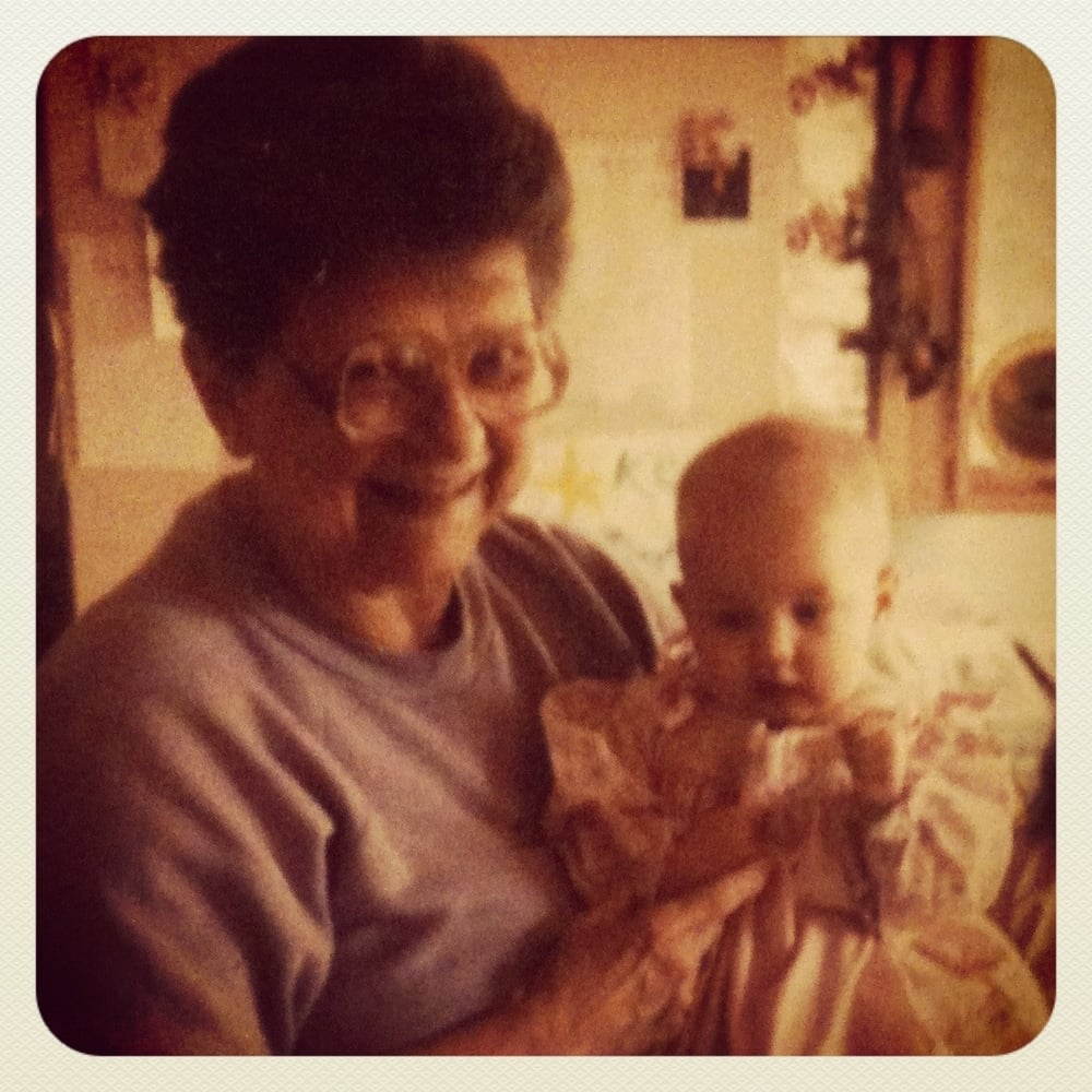 Me and my Meme in 1991.
