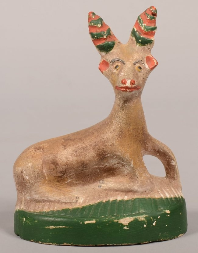 Chalkware stag