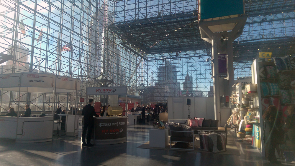 The Javits Center is enormous!