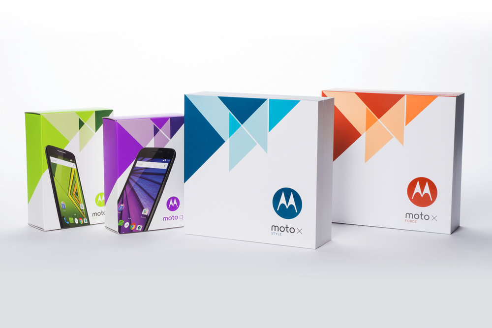 Motorola 2015 Mobile Device Family  |  Packaging Structure Design