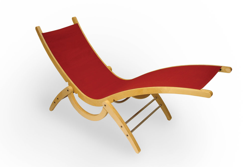 Canvas Lounge Chair  |  Furniture Design