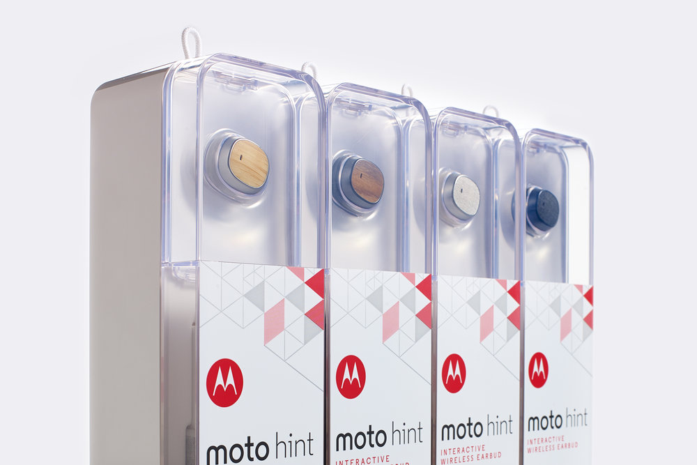 Motorola Moto Hint  |  Packaging Structure Design
