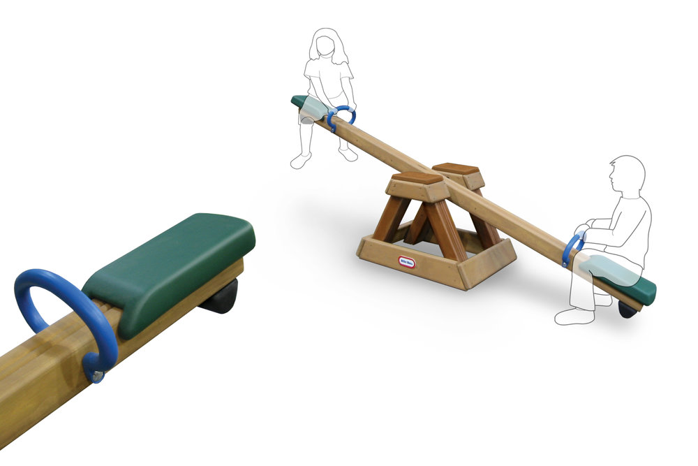 Little Tikes Teeter Totter  |  Product Design