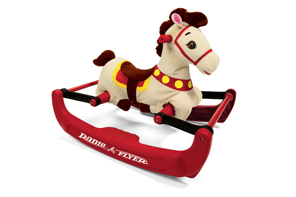 Radio Flyer Soft Rock & Bounce Pony  |  Rocker Base Design