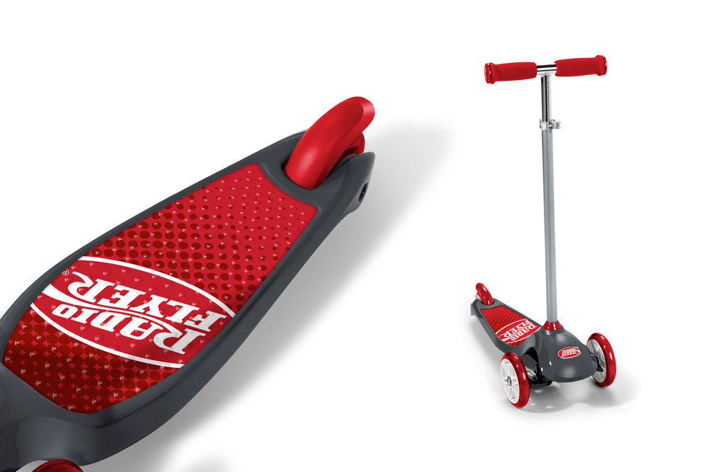 Radio Flyer Pro Glider Deluxe  |  Product & Graphics Design