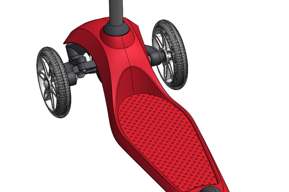 Radio Flyer Pro Glider  |  Product CAD Design