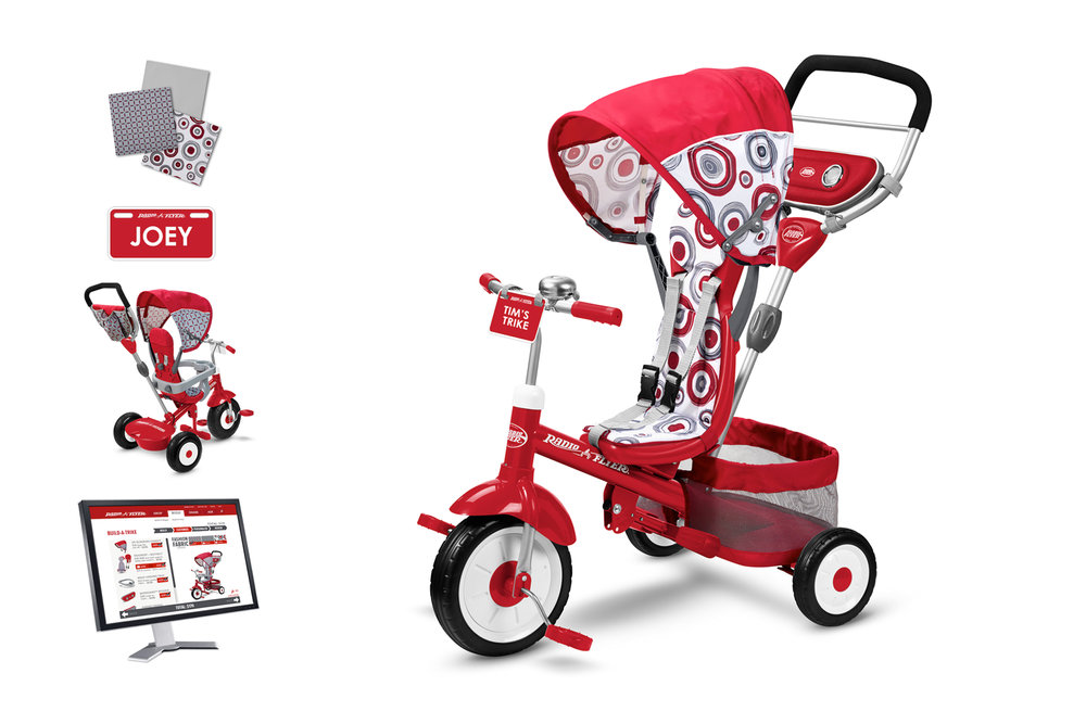 Radio Flyer Build-A-Trike  |  Customization Program Design