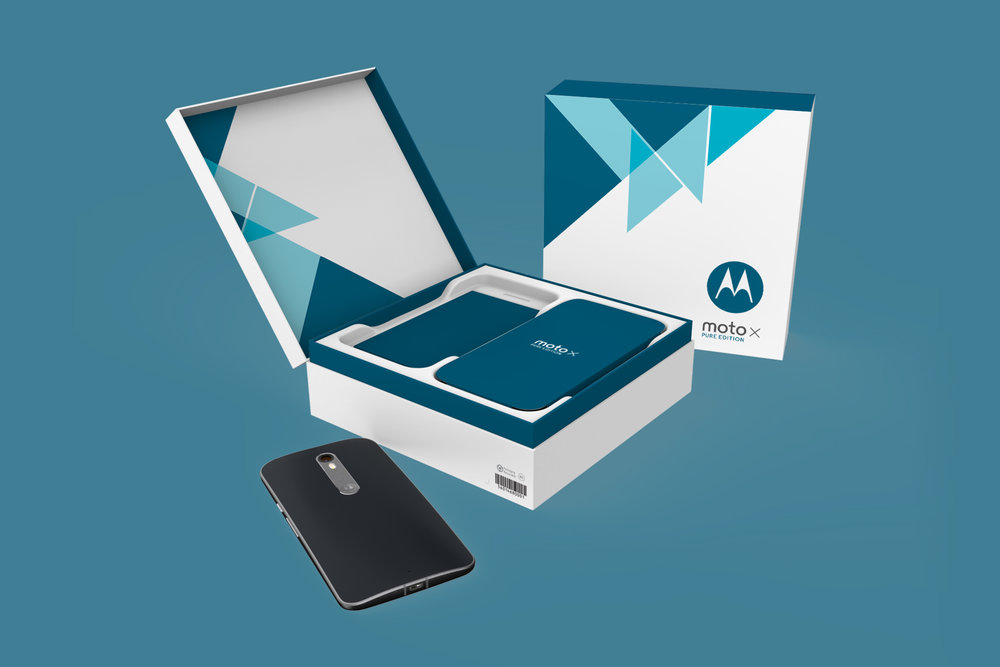 Motorola Moto X Pure  |  Packaging Structure Design