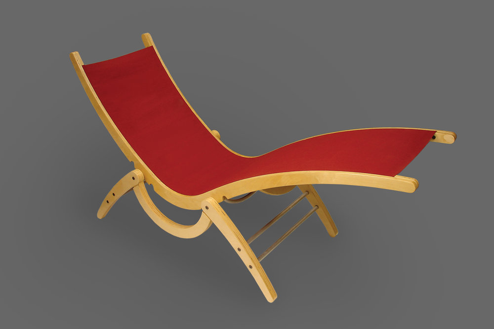 anvas Lounge Chair  |  Furniture Design