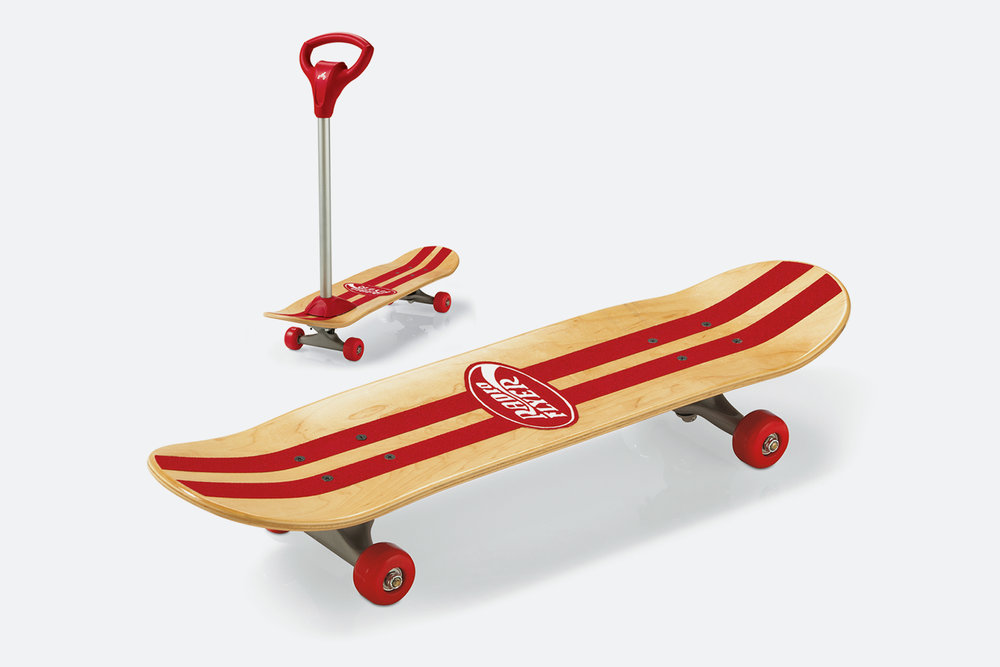Radio Flyer Scoot 2 Skate  |  Product & Graphics Design