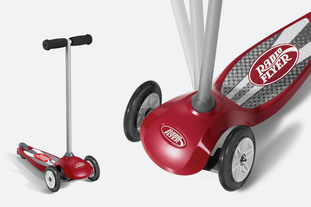 Radio Flyer Pro Glider  |  Product & Graphics Design