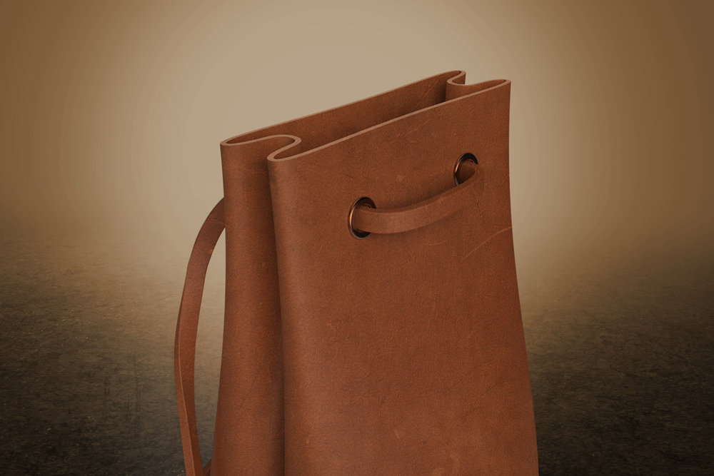 Leather Carry Bag  |  Soft Goods Design