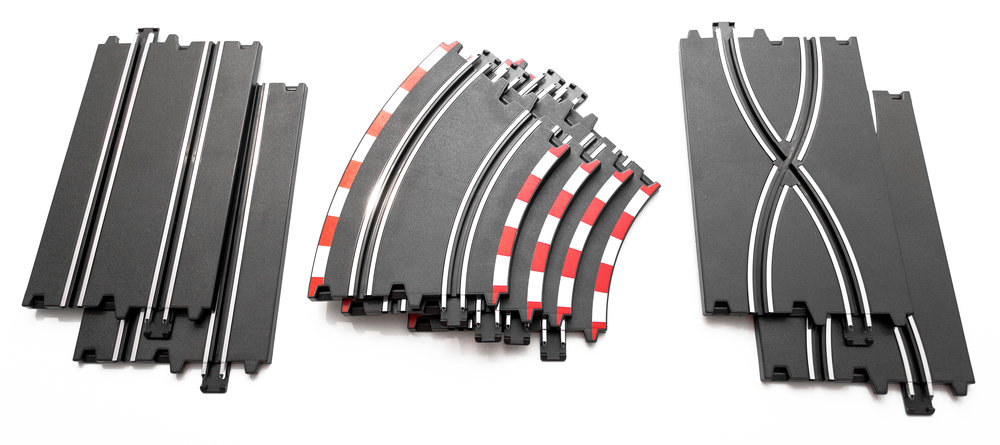 Compatible With all Circuit Track - The STADIUM RACERS set is compatible with all LiteHawk Circuit slot car sets and Track Packs! Expand your set to add more tunnels, bridges, and more interesting features to race on.
