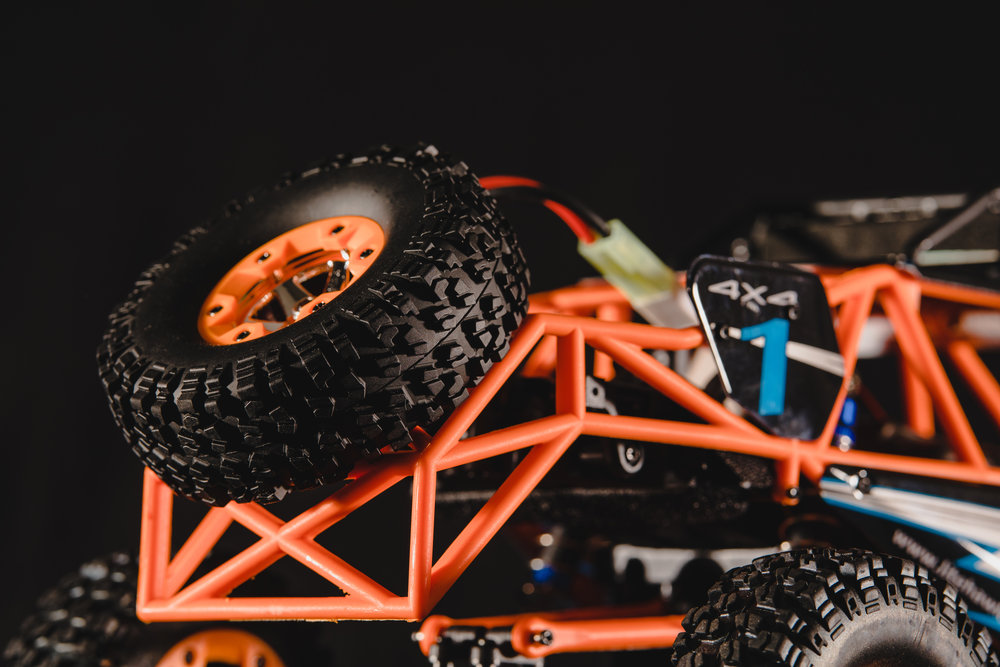 Attention to Detail - Even the smallest details have been smoothed out - want to use the spare tire as an actual wheel? Well, guess what, you can! The LiteHawk ACE is a sturdy, well built machine that can handle nearly any off-road situation.