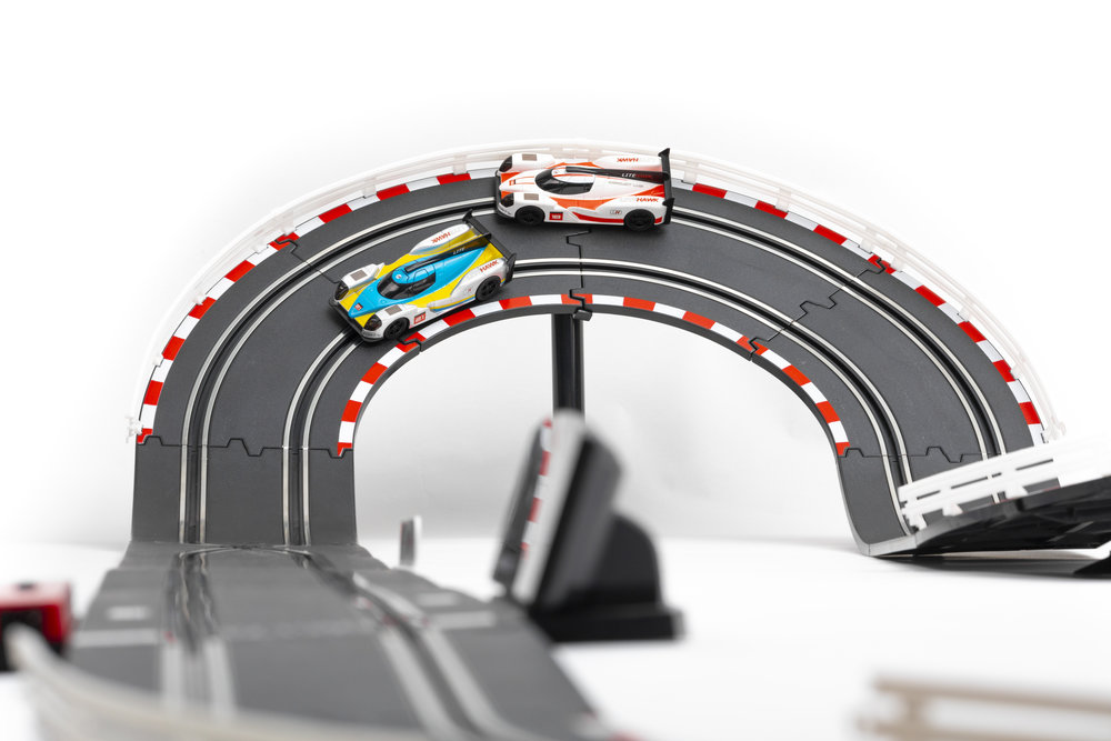 Ready to Run - Like all LiteHawk products, LMP is ready to run! Start your slot car racing career right out of the box.