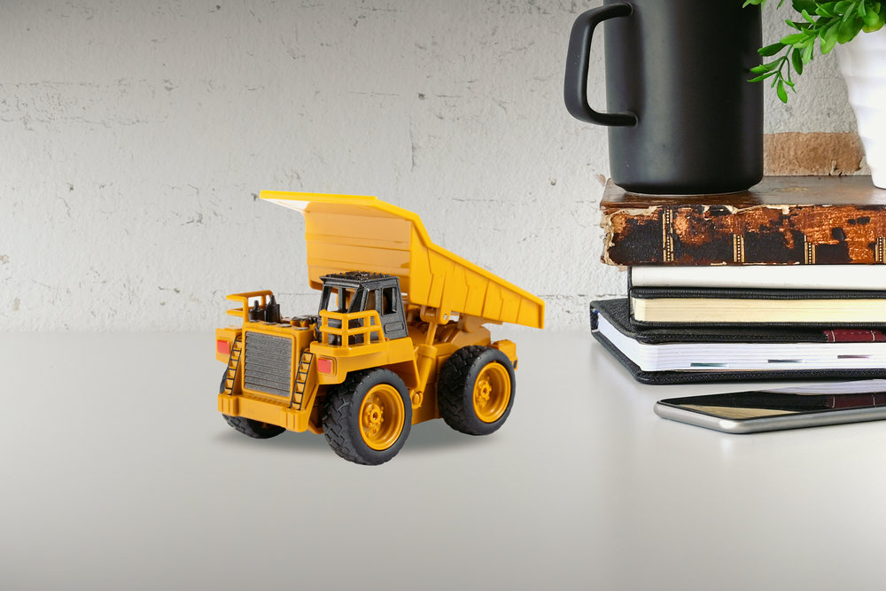 Micro Scale - Explore the world from a new point of view! Wee Construction vehicles can fit in the palm of your hand,