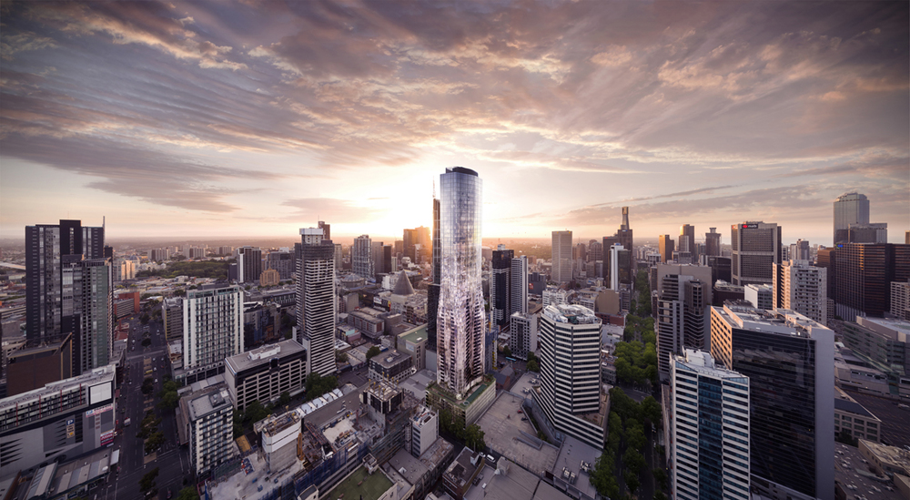Eq Tower - A'beckett Street, Melbourne