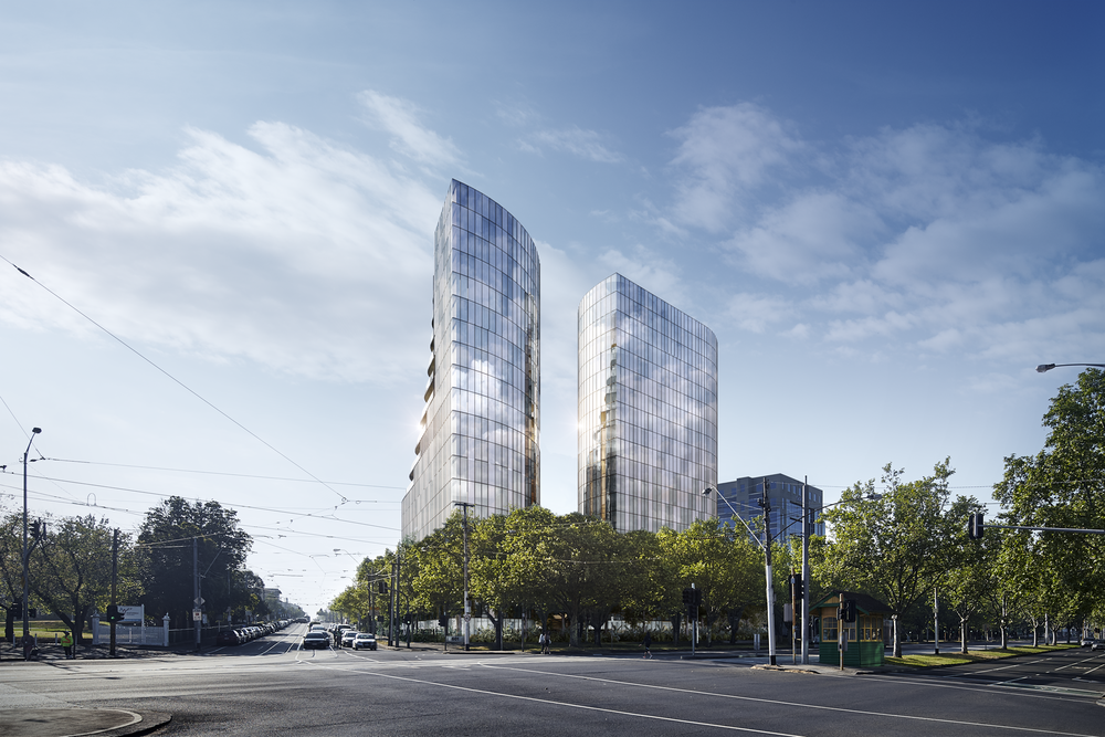 St Boulevard - St Kilda Road, Melbourne