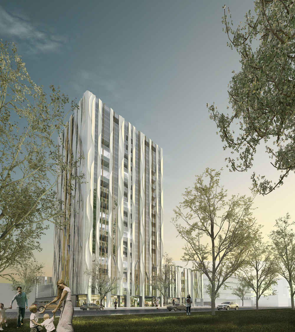 Planning permit granted for south terrace adelaide for 1 south terrace adelaide