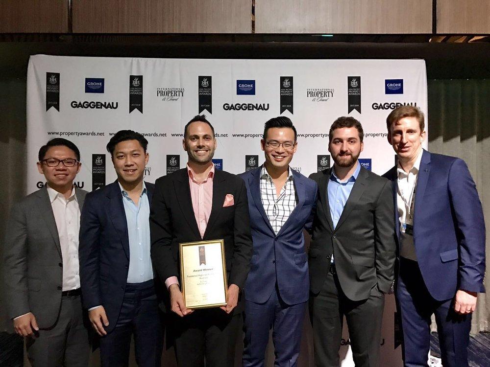 L-R: Sal Quah (ICD), Michael Mai (ICD), Jeremy Schluter (Elenberg Fraser), Matthew Khoo (ICD), Ben McKinnon (ICD), Matt Burns (Sinclair Brook)