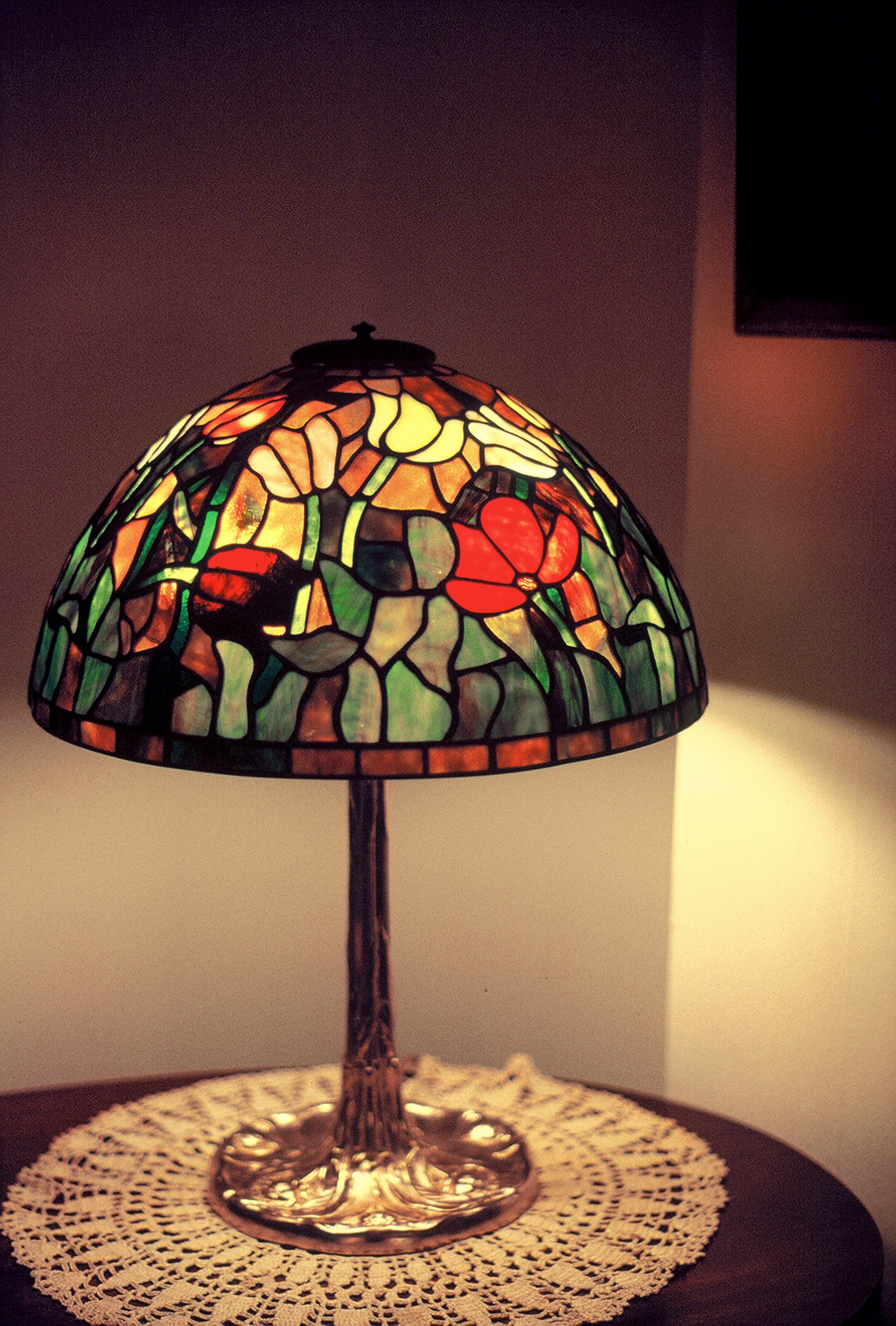 "16"" Tiffany Tulip Table Lamp"